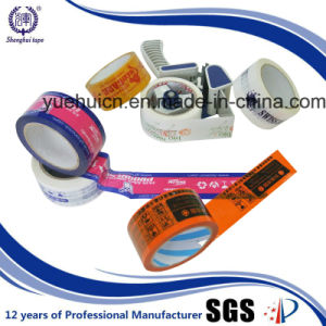 Carton and Box Sealing Tape Printing Logo pictures & photos