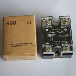 10A AC/AC Single Phase Solid State Relay SSR pictures & photos