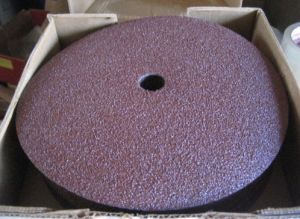 Resin Fiber Sanding Grinding Disc 80 Grit pictures & photos