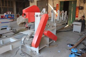Double Blade Sliding Table Sawmill Circular Wood Log Saw Industrial Wood Saws pictures & photos