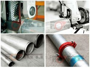 Manual Operater Light Weight Roll Groover (GC02) pictures & photos