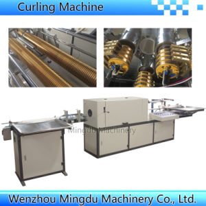 Automatic Plastic Water Cup Rim Rolling Machine pictures & photos