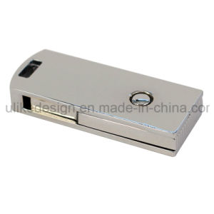 Promote Your Brand with Your Own Logo on Swivel Metal USB Flash Disk Flash Drive (UL-007) pictures & photos
