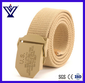 Us Nylon Canvas Belt Man Tactical Belts (SYSG-1999) pictures & photos