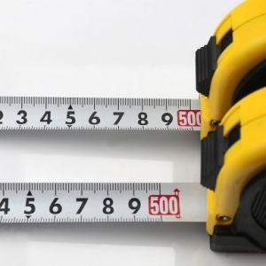 Rubber Covered ABS Case Steel Measuring Construction Tools (RUT-019) pictures & photos