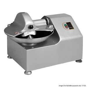 Butchery Stainless Steel Bowl Cutter Tq-8A Restaurant Catering Equipment pictures & photos