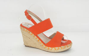 Women′s Fashion Espadrille Wedge Heel Sandle