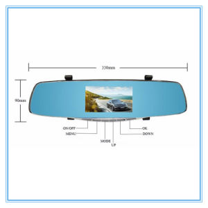 Full HD Dual Lens Dash Cam with Car DVR pictures & photos
