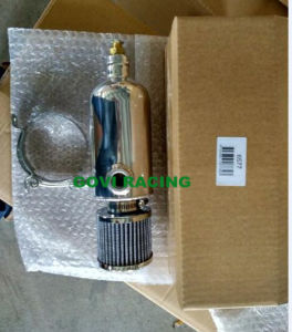 Alloy Oil Catch Tank Wth Drain Cock 1/2′′npt 750ml with Air Breather pictures & photos