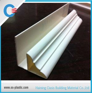 PVC Top Angle Accessory Profiles for PVC Ceiling Panel Installation pictures & photos