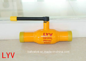 Actuated Forged API ISO Big Size Fully Welded Ball Valves pictures & photos