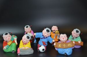 Chinese Traditional Baby Made From Red Clay pictures & photos