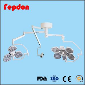 Two Arm Ceiling Surgical LED Light with Arm Camera pictures & photos