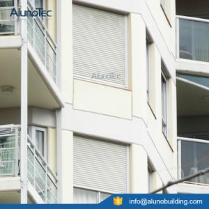 Automatic Aluminum Rolling Shutter Window / Horizontal Aluminium Roller Shutter pictures & photos