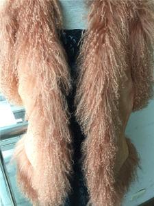 Peace Vest / Fashion Fake Fur Vest pictures & photos