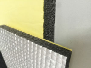 HVAC Duct Insulation XLPE with Aluminum Foil and Adhesive pictures & photos