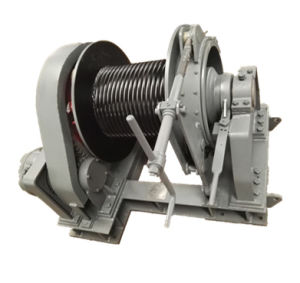 Single Drum Hydraulic Mooring Winch pictures & photos