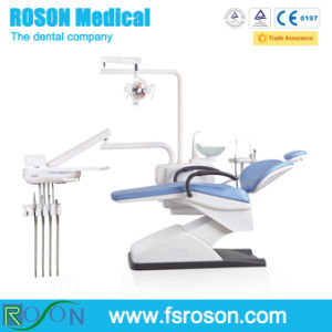 Left Hand Dental Unit, Dental Chair with Ce Marked