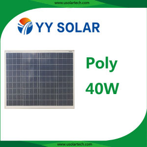 5W/10W/20W/40W Hot Sale Solar Panel for Solar Light pictures & photos