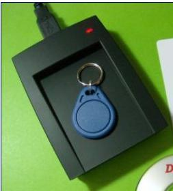 USB 2.0 OTG Card Reader 125kHz Desktop RFID Reader pictures & photos
