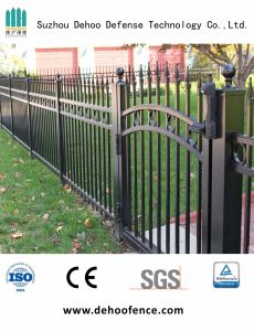 Security Ornamental Garden Fence with Gate pictures & photos