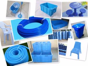 High Pigment PE HDPE PP Pet LDPE Food Contact Polypropylene Dark Sea Aqua Navy Blue Skyblue Color Colour Masterbatch Manufacture pictures & photos
