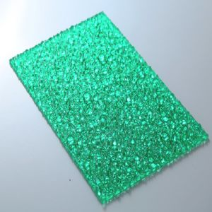 Colored Cheap Diamond Embossed Polycarbonate Sheet pictures & photos