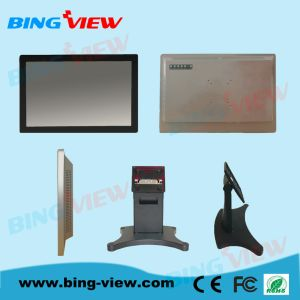 "21.5"" Touch POS System Monitor, 1920*1080, VGA/DVI/HDMI, P-Cap Touch"