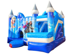 Inflatable Frozen Theme Bouncer Combo Bouncy Castle with Slide (CHB1128) pictures & photos