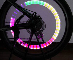 Auto Colour Changing Valve Tire Spoke Light for Bike Motorbicycle pictures & photos