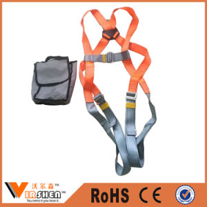 Full Body Protective Harness Constrution Climbing Safety Belt pictures & photos