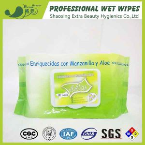 Women Wet Tissues Organic Cosmetic Removal Wet Wipes pictures & photos