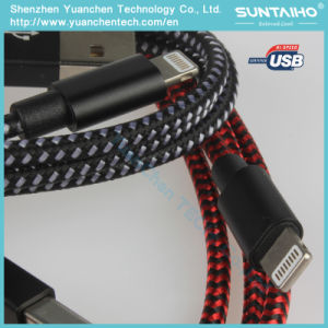 Nylon Fast Charger Cable High Speed USB Cable Lightning Cable pictures & photos