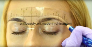50 PCS Newest Microblading Eyebrow Design Tools Eyebrow Ruler Stickers pictures & photos