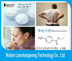 USP 99.8% Local Anesthetic Benzocaine CAS 94-09-7 for Cough Drops pictures & photos