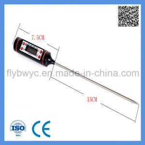 Digital Food Meat Cooking Kitchen BBQ Milk Liquid Probe Pen Type Thermometer pictures & photos