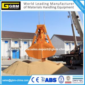 Bulk Handling Hydraulic Electric Remote Control Clamshell Grab for Coal Grain pictures & photos