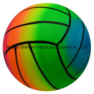 OEM Printed PVC Rainbow Beach Ball/Water Game Ball pictures & photos