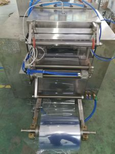 Disposable Razor Papercard Blister Packing Machine pictures & photos
