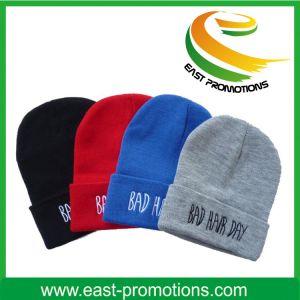 Winter Hat Acrylic Jacquard POM POM Beanie Hat pictures & photos
