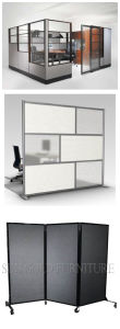 Modern Divide Spaces Partition Walls in Glass for Interior (SZ-WS683) pictures & photos