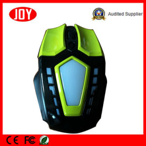 New Style Colorful LED 6D Wired USB Optical Computer Gaming Mouse pictures & photos