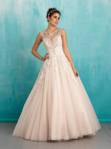 Grateful Mermaid Lace Cap Sleeve Wedding Bridal Dresses pictures & photos