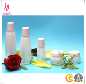 Aluminum Cover Glass Bottle Cosmetic pictures & photos