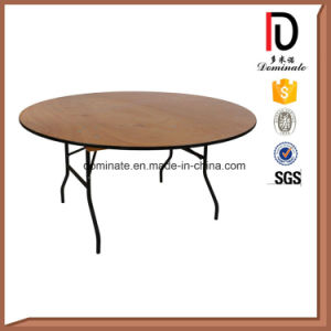 18mm Plywood Folding Wedding Dining Hotel Restaurant Banquet Table pictures & photos