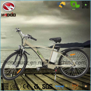 Light Weight Rear Motor Electric Mountain Bike with Suspension pictures & photos
