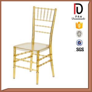 Transparent Gold PC Resin Tiffany Chair for Party (BR-C173) pictures & photos