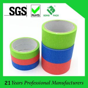 No Residue Rubber Adhesive Crepe Paper Masking Tape pictures & photos