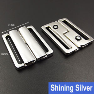 35mm Alloy Metal Clasp Bra Buckle in Free Samples Available pictures & photos