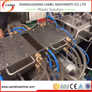 WPC PVC Profile Decking Board Extruder Production Line pictures & photos